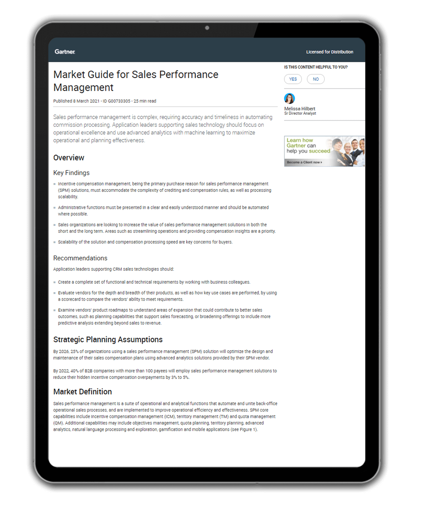 Gartner Market Guide