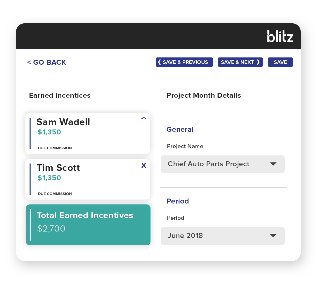 Blitz allow you to optimize plans in minutes