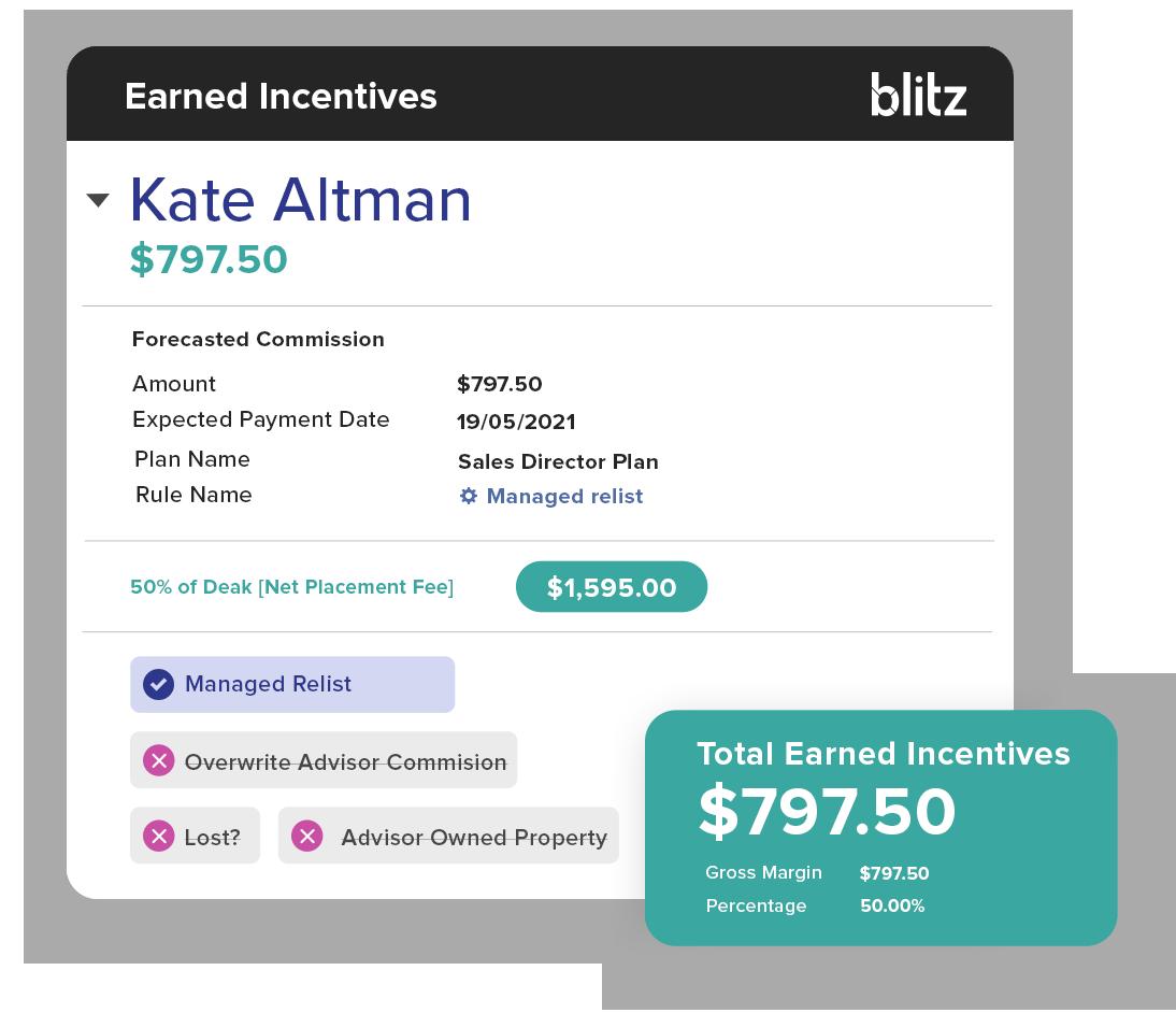Blitz: Commission management in one-single platform