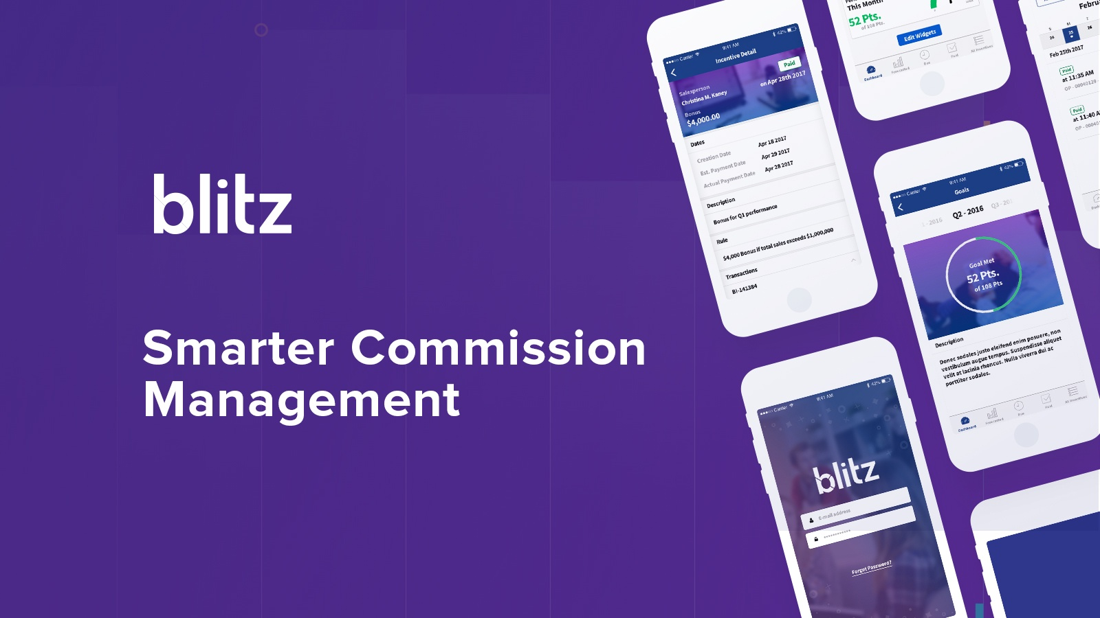 The best sales commission tracking software | Blitz